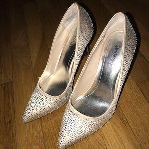 Jennifer Lopez Three Inch Heels.